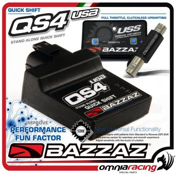 Bazzaz Qs4 Usb For Kawasaki Er 6n Er 6f 2012 12 Stand Alone Quick