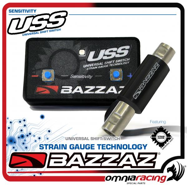 Bazzaz USS 861 sensore cambio elettronico moto compressione estensione shift switch quick shifter