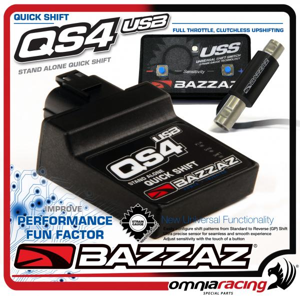 Bazzaz quick shifter qs4 usb for all motorbikes plug & play