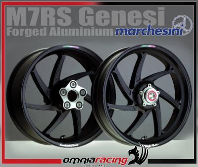 Pair Of Marchesini M7rs Genesi Forged Aluminium Wheels Triumph