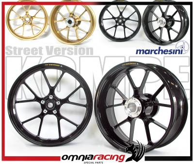 Pair Of Marchesini Kompe M10r Forged Aluminium Street Wheels Honda Cbr 600 Rr Cbr600rr 05 06