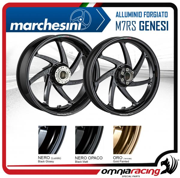 Pair of Marchesini M7RS genesi forged aluminium for Suzuki GSXR1000/R 2017>