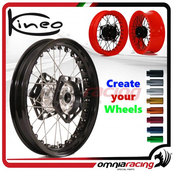 Kineo 3 50x17 Front Wire Wheel For Honda Nc750x Abs 2014 2015