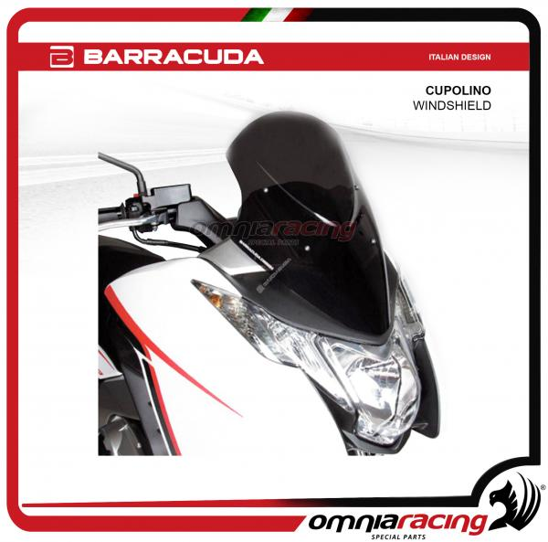 Barracuda cupolino AEROSPORT colore fume' scuro per Honda Integra 700/750 2012>2015