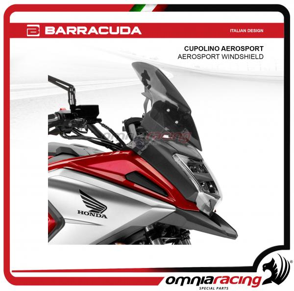 Barracuda Fairing Aerosport Dark Fume Color For Honda Nc750x 2015