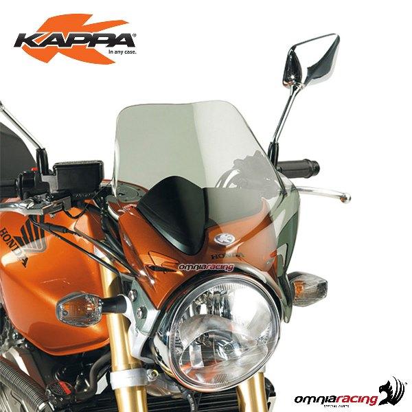 huge discount 704b1 ddd39 Windscreen Kappa smoked 31,2x40,8cm for Honda Hornet 600 2005>2006