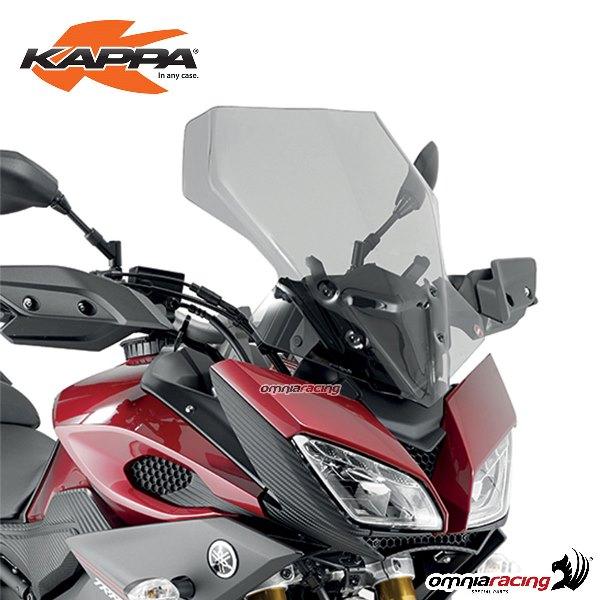 Screen Kappa Smoked 48x42cm For Yamaha Mt09 Tracer 2015 Kd2122s Headlight Windshield Screens