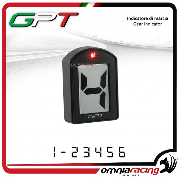 Gear Indicator abs GPT plug & play white color for Honda CB600F HORNET 2008>2013
