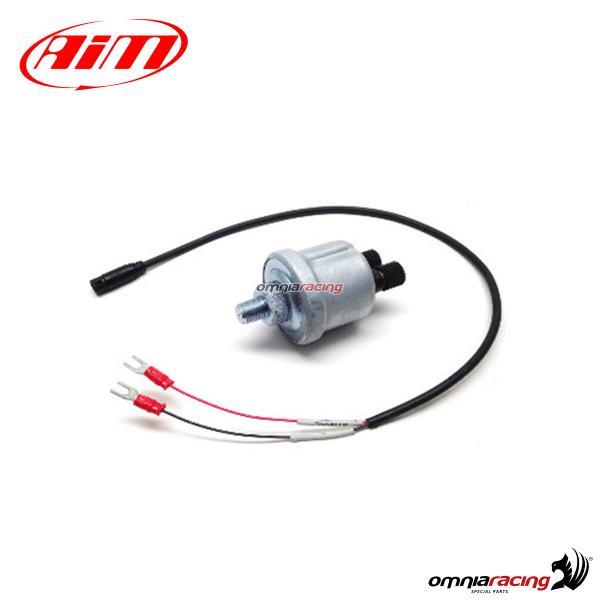 AIM Sensore Temperatura acqua//olio termocoppia cavo cm 30 Filetto M5