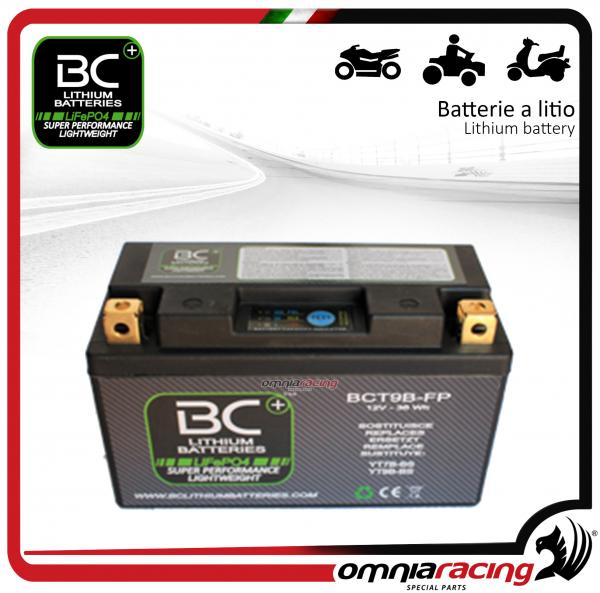 BC Battery - Batteria moto al litio per Yamaha XP500A Tmax 500 ABS 2005>2007