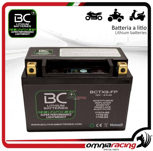 BC Battery - Batteria moto al litio per KTM DUKE 690 ABS 2012>2016