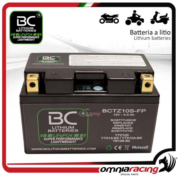 BC Battery - Bike lithium battery for Honda CB600F HORNET 2007>2015