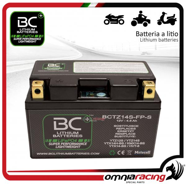 BC Battery - Batteria moto al litio per Adiva AD250IE 2008>2010