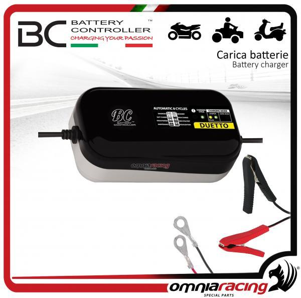 BC Battery KIT 1 charger Duetto 1.5Amp for batteries lead/acid, lithium for batteries 12V