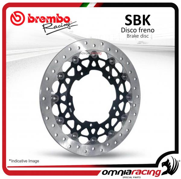 Disco Freno Brembo Racing 6mm 320mm x6 (5 Fori 132x150) Yamaha YZF 600 R6 2006>2011