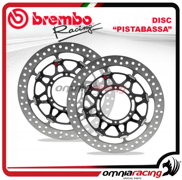 Amazing Pair Of Brembo Pistabassa Front Brake Disc 320Mm For Ducati 749 848 999 1098 1198 Machost Co Dining Chair Design Ideas Machostcouk