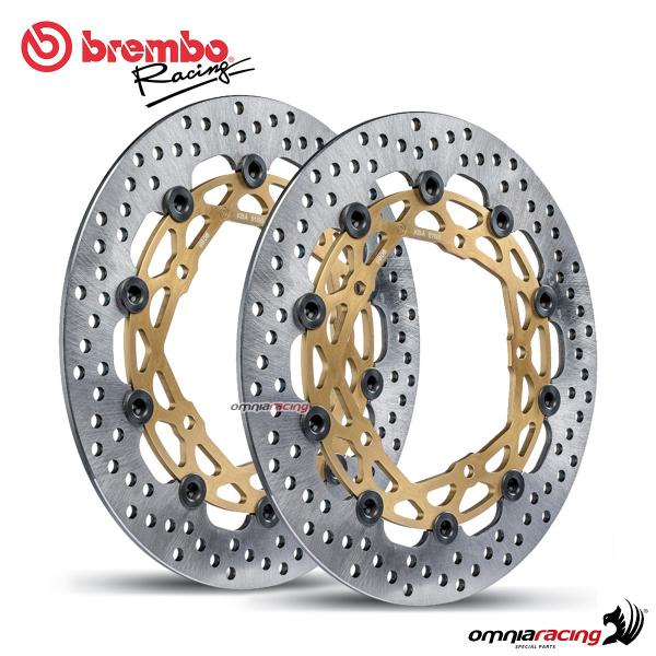 Coppia dischi freno anteriori Brembo Supersport da 320mm per Yamaha YZF R1/R1M 2015>