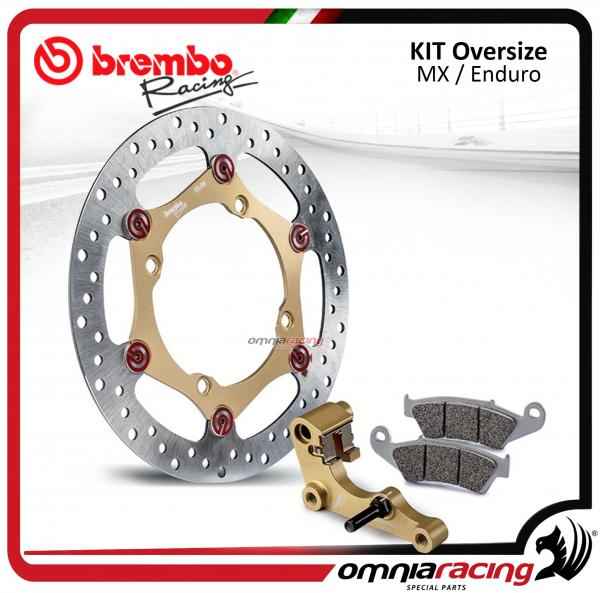 Brembo MX Off Road Kit disco freno Oversize 267mm con staffa e pastiglie per KTM 125 / 250 / 450
