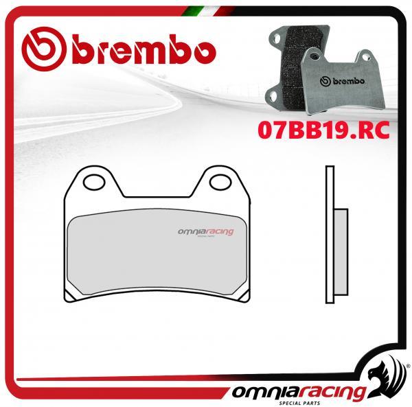 Organisch Front Bremsbelagsatz Für Ducati Sport Touring 4 900 1999> Verkaufsrabatt 50-70% Motorradteile Brembo Rc