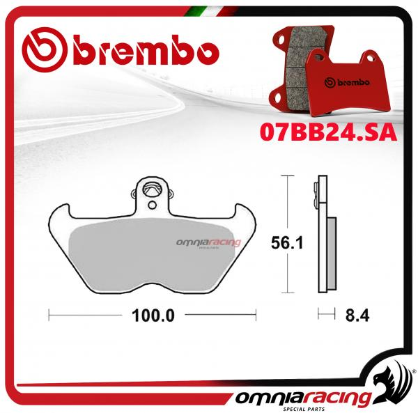 Brembo SA - Sintered front brake pads for BMW K1200RS 1997>2000