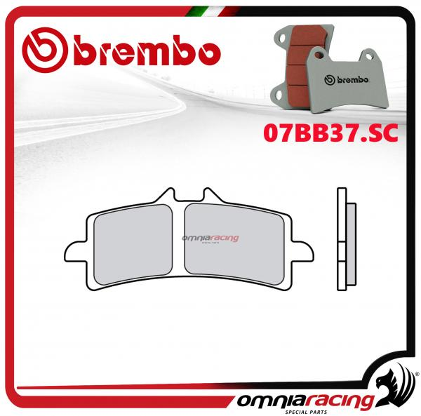 brembo sc - sintered front brake pads for ducati multistrada 1200  touring s abs 2015>