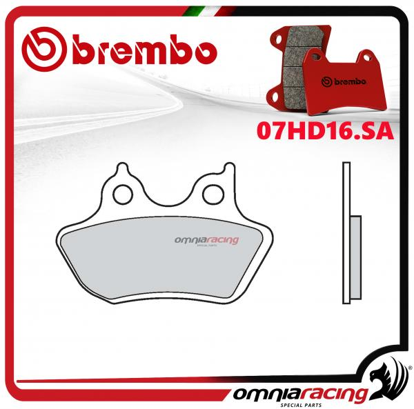 Brembo Sa - Sintered Rear Brake Pads for Harley Davidson