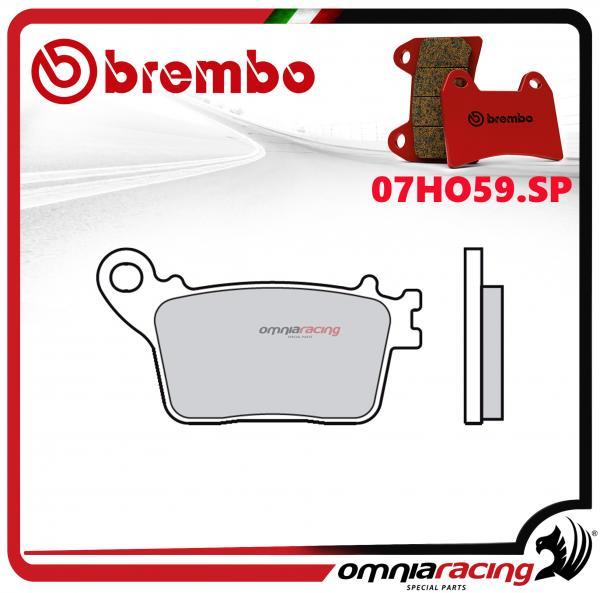 Brembo SP - Sintered rear brake pads for Kawasaki Z125 pro 2017>