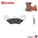 Brembo front brake pads XS sintered for Peugeot Metropolis T400 2016