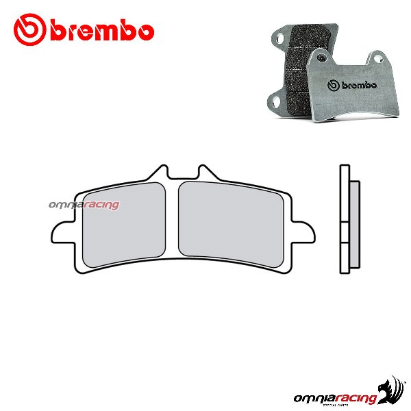 Brembo front brake pads RC sintered for Aprilia RSV4 Factory /APRC ABS 2009>2014