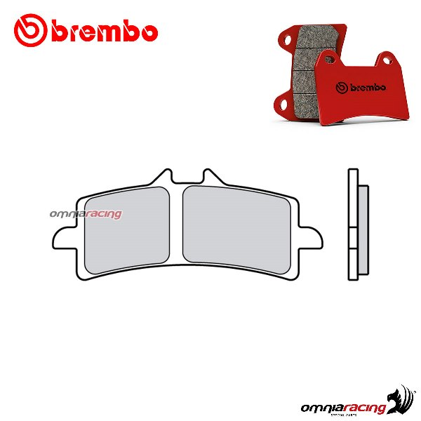 Brembo front brake pads SA sintered for Aprilia RSV4 Factory /APRC ABS 2009>2014