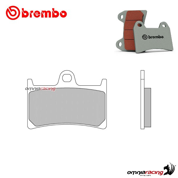 Brembo RC Front Brake Pads For Yamaha 2014 YZF-R6