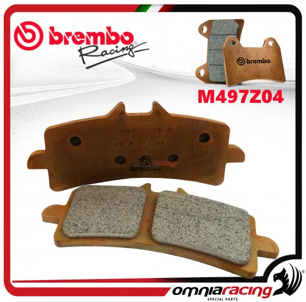 Brembo Racing Z04 - M497Z04 Compound Brake Pads for M4 GP4-RX Monobloc Calipers