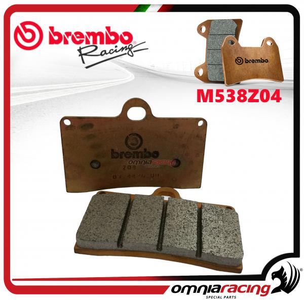 Brembo Racing Z04 - M538Z04 Compound Brake Pads for Yamaha YZF R1 / R1M 2015>