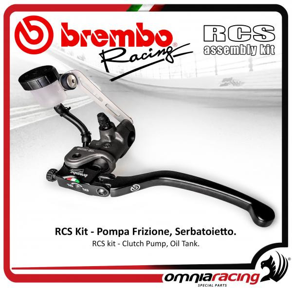 Brembo Racing Kit Radial Clutch/Brake left side Pump RCS 14 reservoir Tank Oil and support