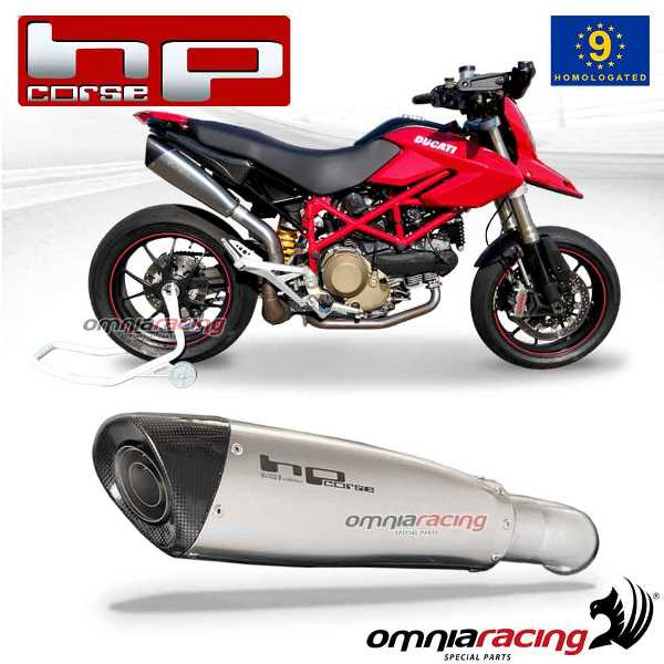 Hp Corse Evoxtreme 310 Satin Slip On Exhaust System Homologated