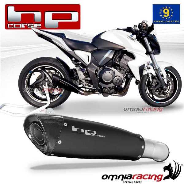 Details about Hp Corse EVOXTREME exhaust slipon black homologated HONDA  CB1000R 2008>2015