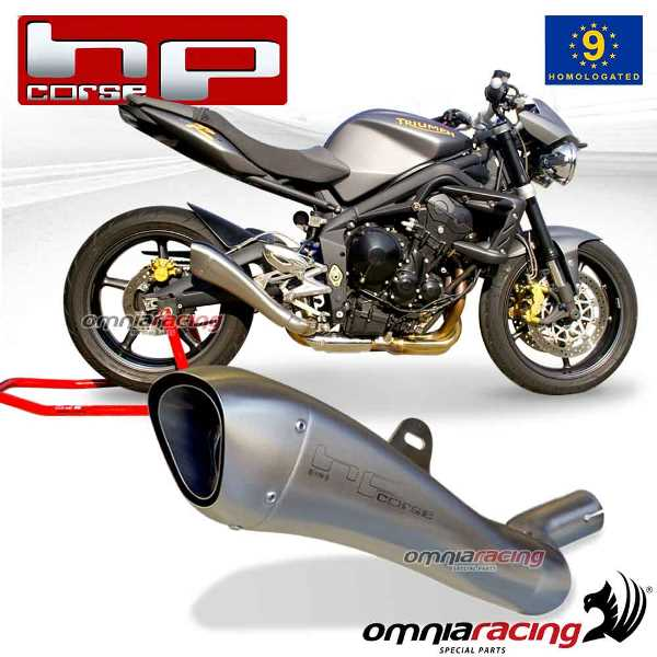 Hp Corse Hydroform For Triumph Street Triple 675 R 2007 07 12 Single