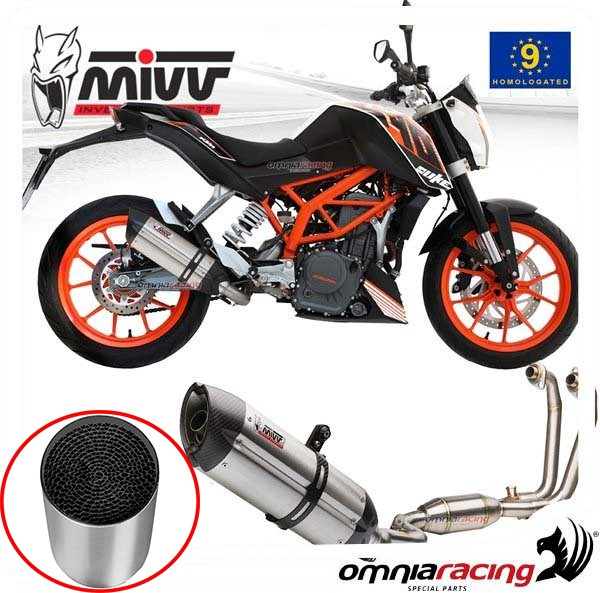 Catalizzatore per Scarichi MIVV ACC.033.A1 per Ktm 390 Duke 2013 /> 2016