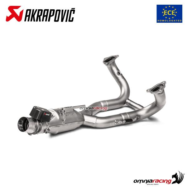 Collettori Akrapovic omologati Euro4 in titanio per BMW R1250GS / Adventure 2019>