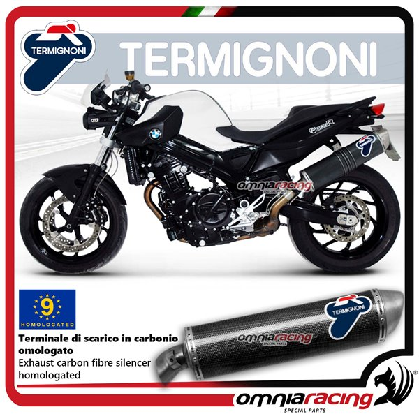 Termignoni Exhaust Oval Homologated Carbon Look Slip On For Bmw F