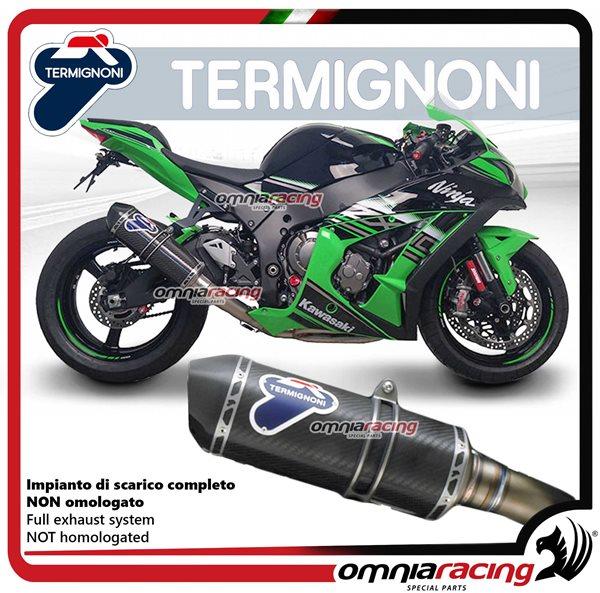 Motorcycle Real Carbon Fiber Flue Gas Tank Cover For Kawasaki Z1000 2010-2012 11