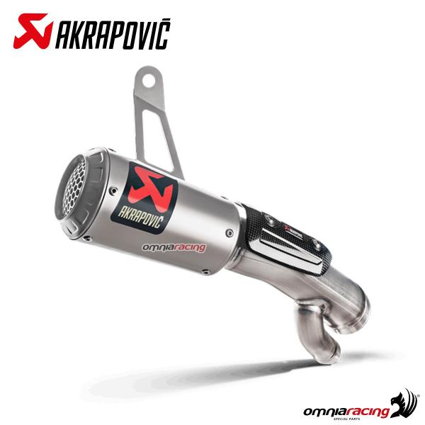Fast Pro sistema completo di scarico//marmitta slip-on per moto