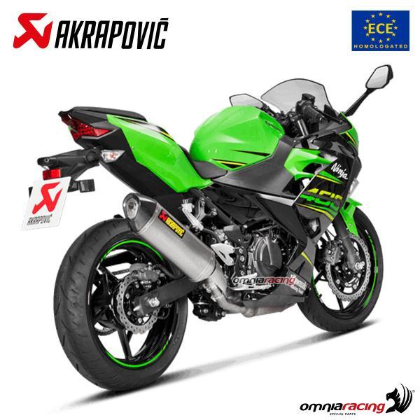 Akrapovic Slip On Homologated Euro4 Exhaust System Titanium For
