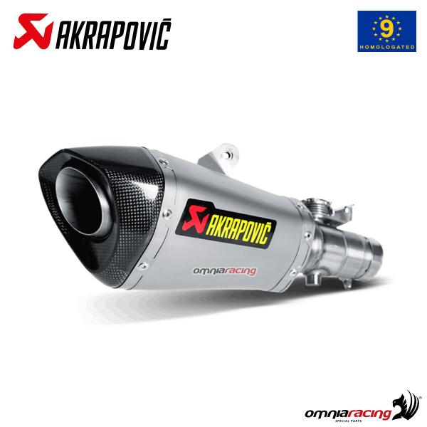 Akrapovic exhaust approved titanium for Yamaha YZF R6 2010>2016