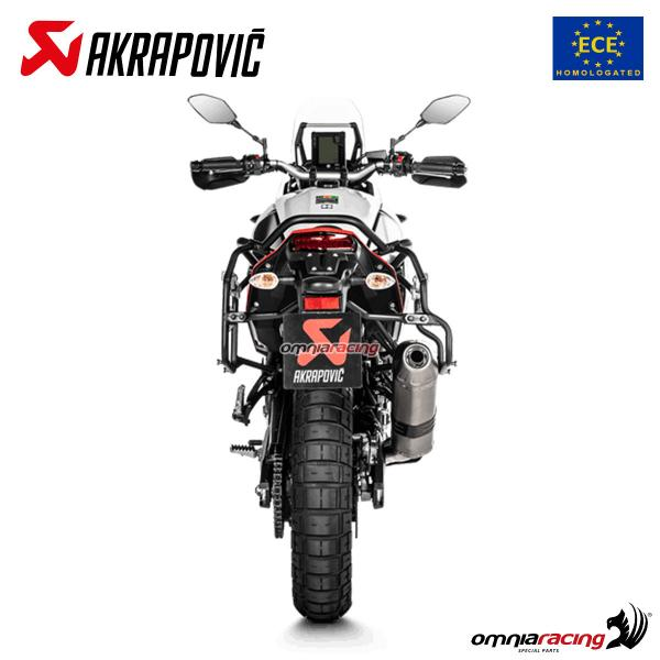 Akrapovic exhaust Euro4 approved titanium for Yamaha Tenere 700 2019>