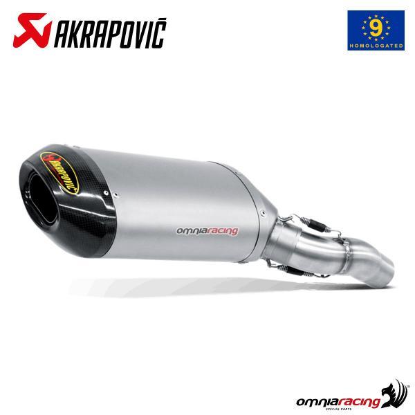 Akrapovic exhaust approved titanium for Kawasaki ZX6R / ZX6RR 636 2005>2006