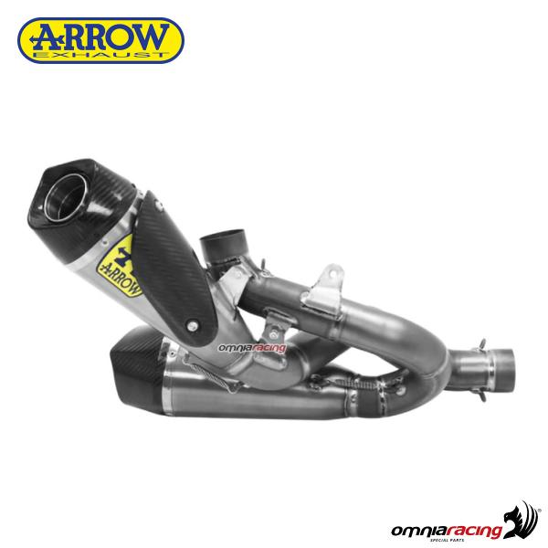 Arrow exhaust Works full titanium silencer racing not homologated for Ducati Panigale V4 2018>