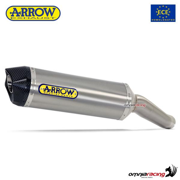 Arrow exhaust Race-Tech titanium silencer homologated for Aprilia RSV4RR/ RF 2017>