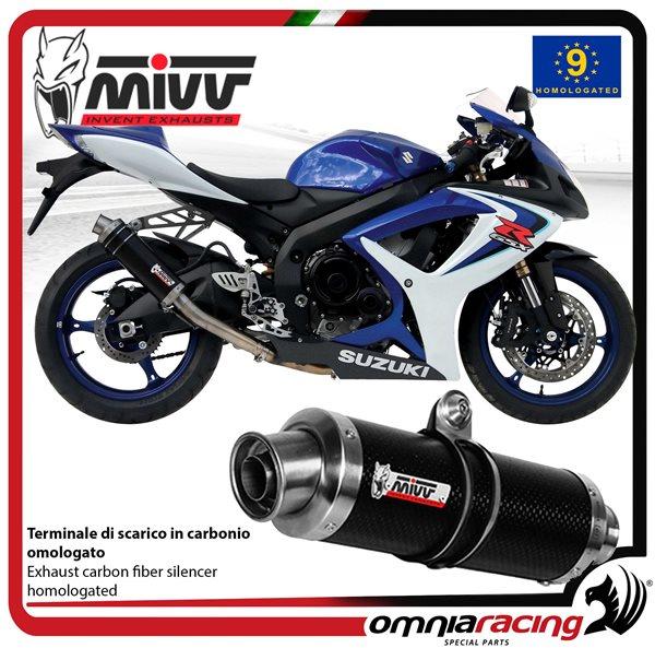 Suzuki GSXR 600 750 K8 K9 L0 Moto GP Exhaust Race Can