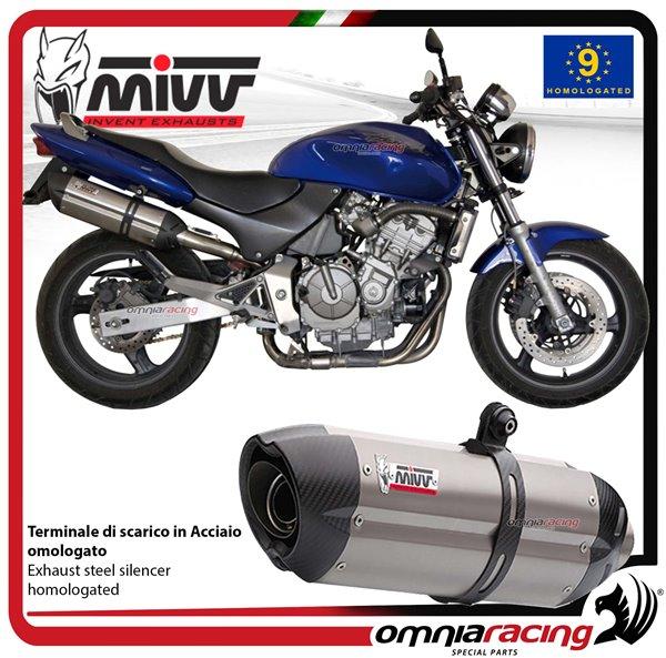 Mivv Suono Stainless Steel Exhaust For Honda Hornet 600 1998 2002